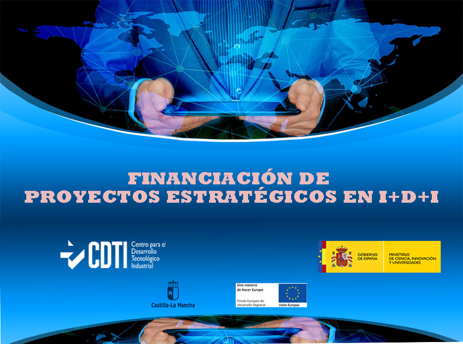 Flyer Financiacion proyectos estrategicos IDI