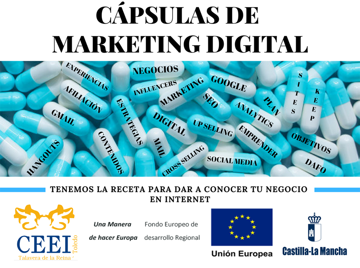CÁPSULAS DE MARKETING DIGITAL