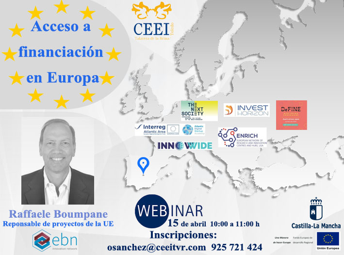 Flyer Webinar Lineas de financiacion en Europa